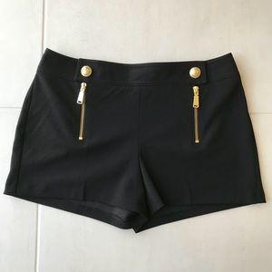 Express Gold Hardware Shorts